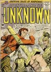 Cover For Adventures into the Unknown 78