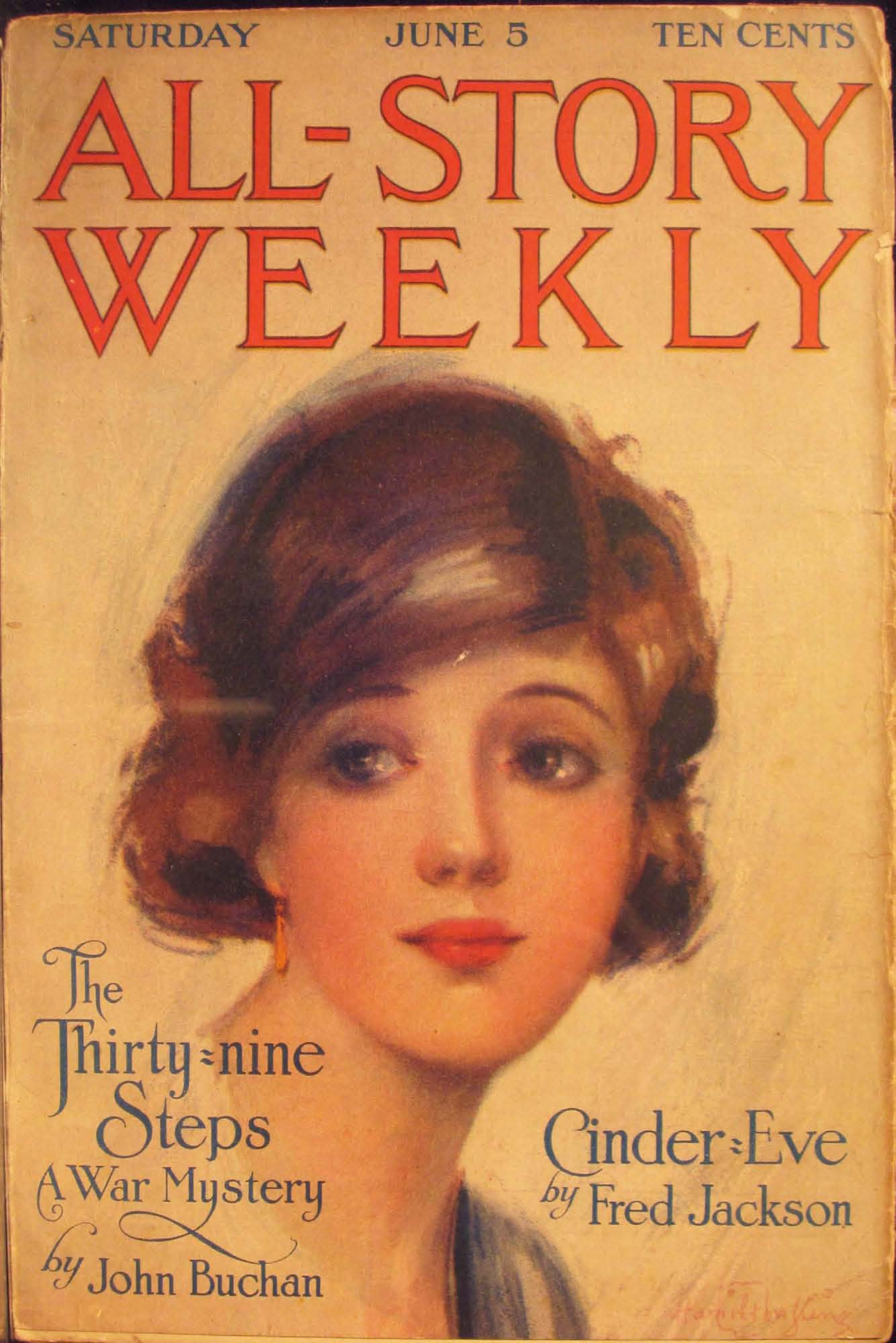 Comic Book Cover For All-Story Weekly v045 04
