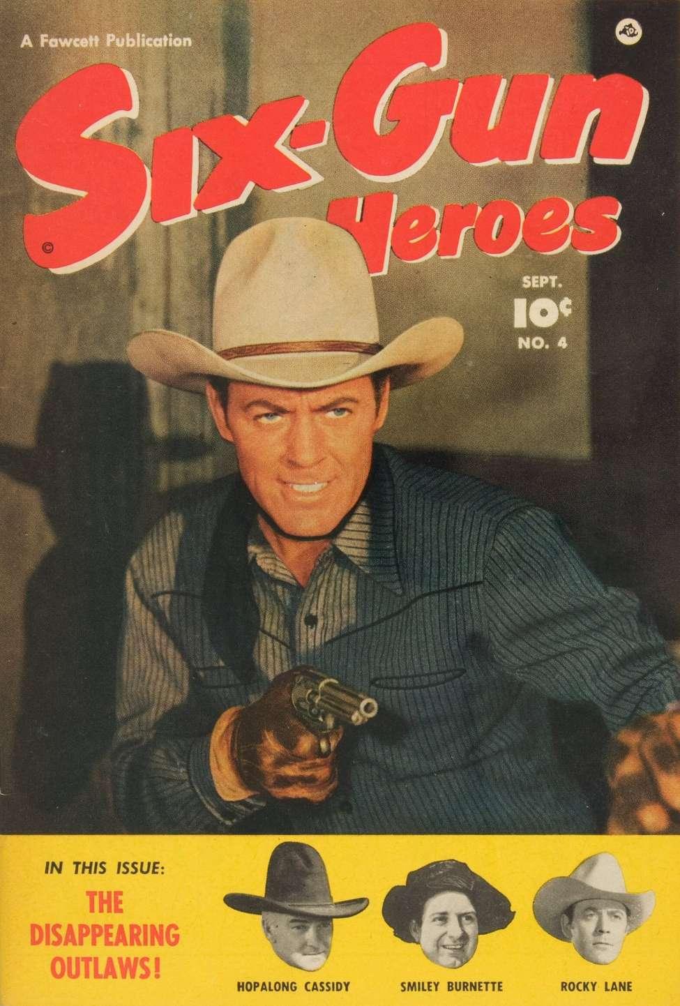 Comic Book Cover For Six-Gun Heroes #4