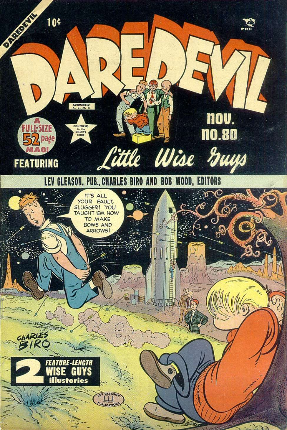 Comic Book Cover For Daredevil Comics #80