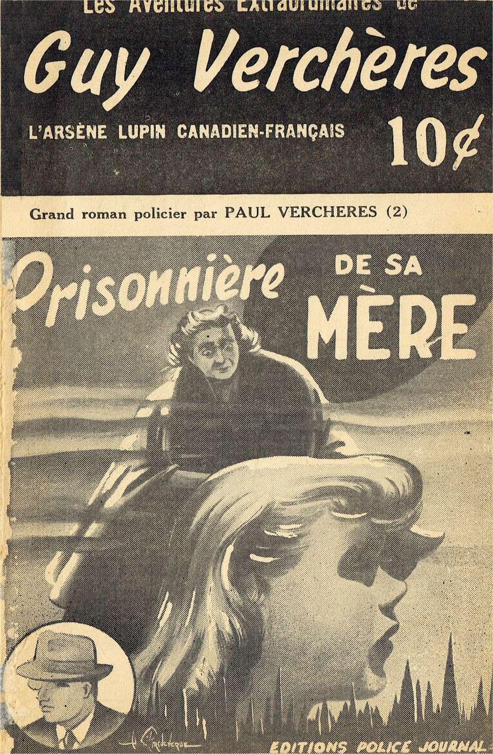 Comic Book Cover For Guy Verchères v2 02 - Prisonnière de sa mère
