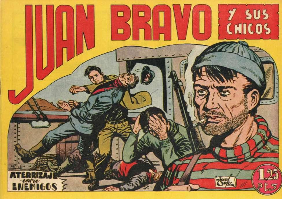 Comic Book Cover For Juan Bravo 06
