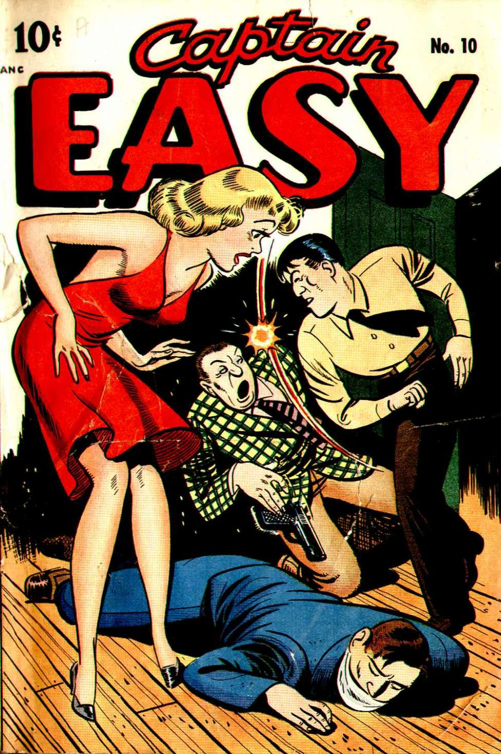 Comic Book Cover For Captain Easy #10 - Version 2