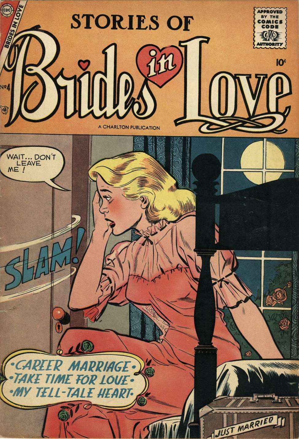 Comic Book Cover For Brides in Love #4