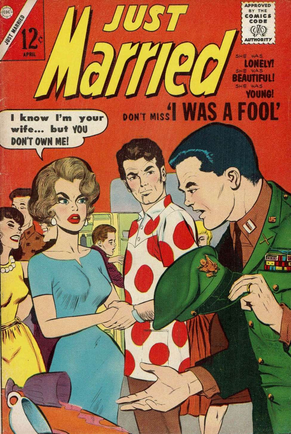 Comic Book Cover For Just Married #30