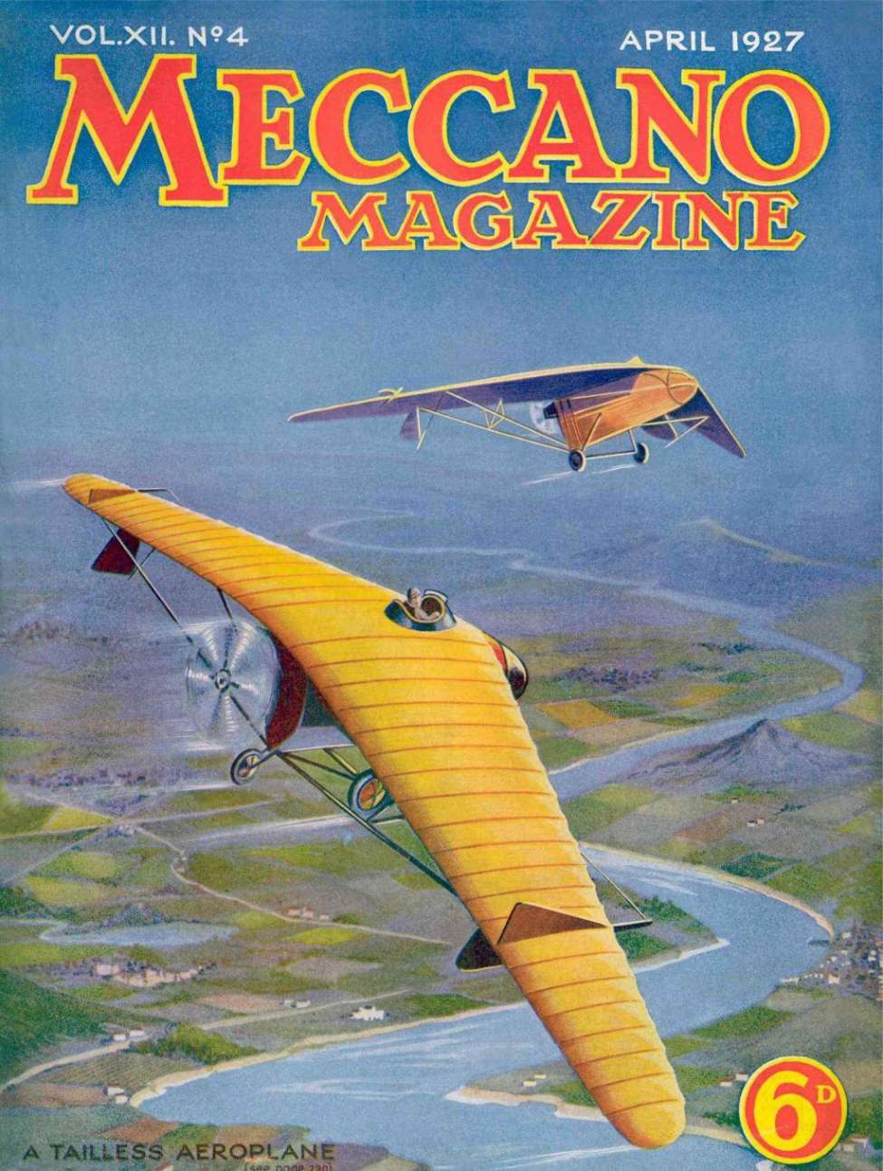 Comic Book Cover For Meccano Magazine v12 04