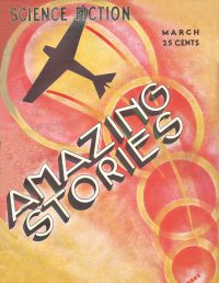 Large Thumbnail For Amazing Stories v07 12 - The Tomb of Time - Richard Tooker