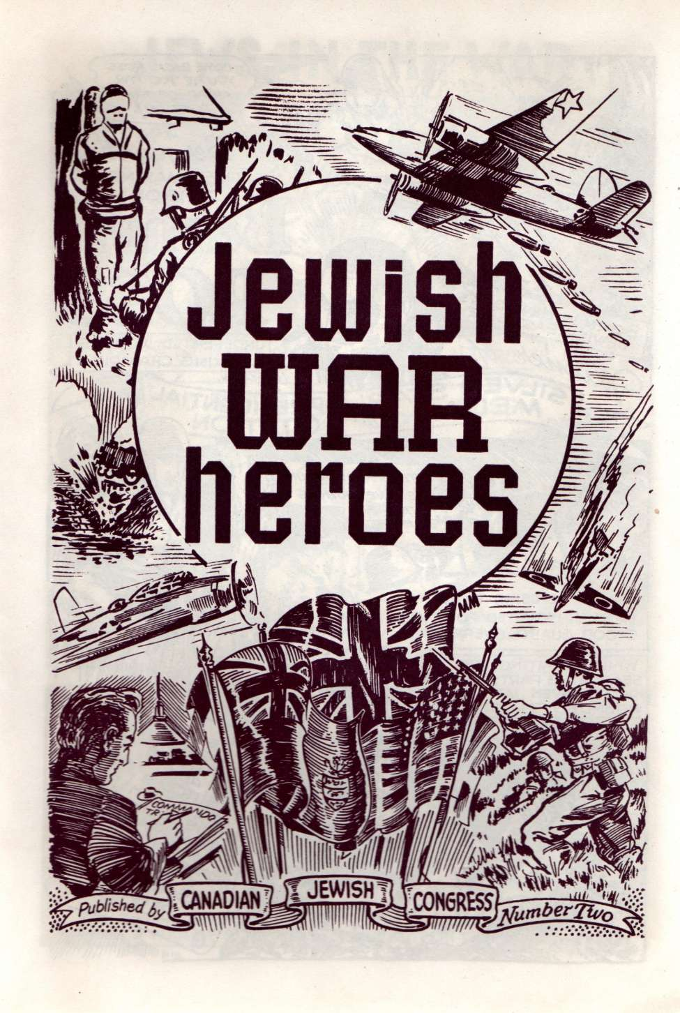 Comic Book Cover For Jewish War Heroes #2