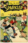 Cover For Sparkler Comics 62