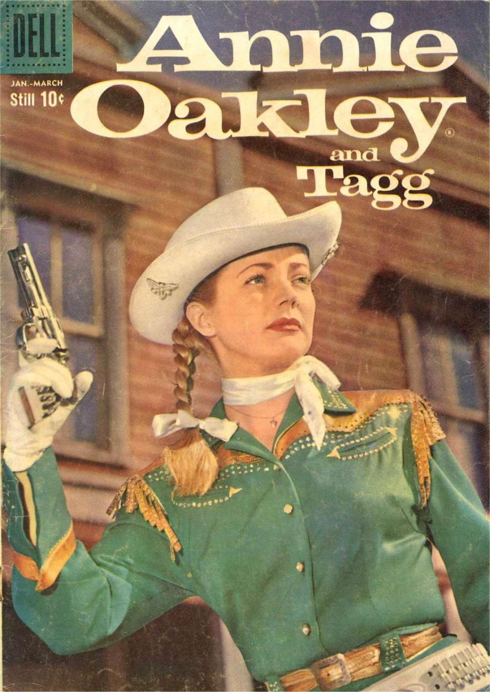 Comic Book Cover For Annie Oakley and Tagg 18