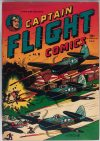 Cover For Captain Flight Comics 8