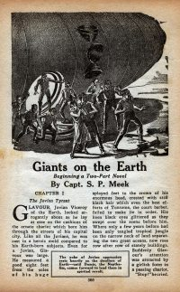 Large Thumbnail For Astounding Serial - Giants on the Earth - S P Meek