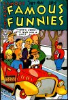 Cover For Famous Funnies 187