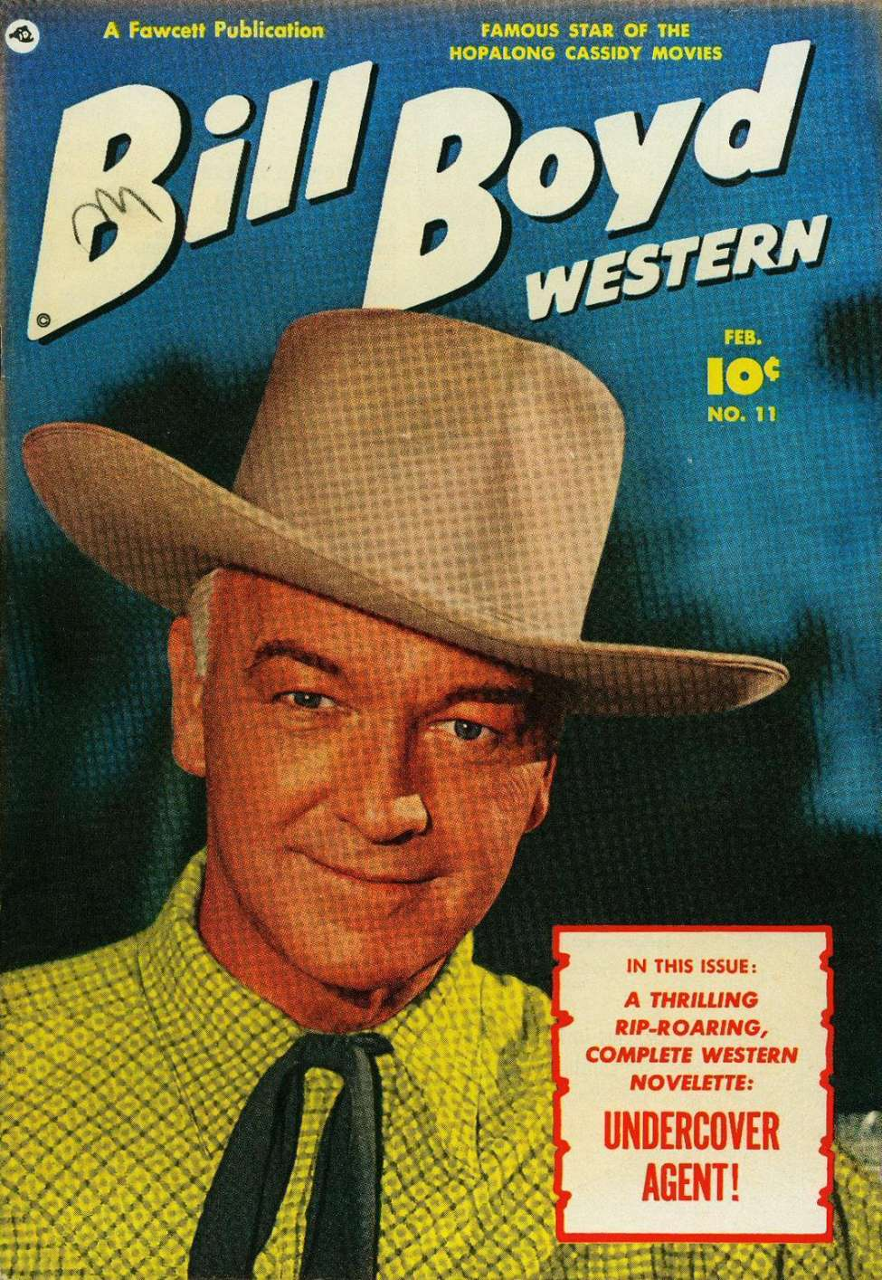 Comic Book Cover For Bill Boyd Western #11