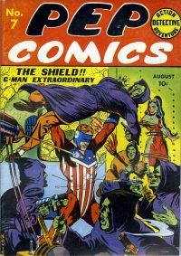 Large Thumbnail For Pep Comics #7