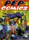 Cover For Pep Comics 7