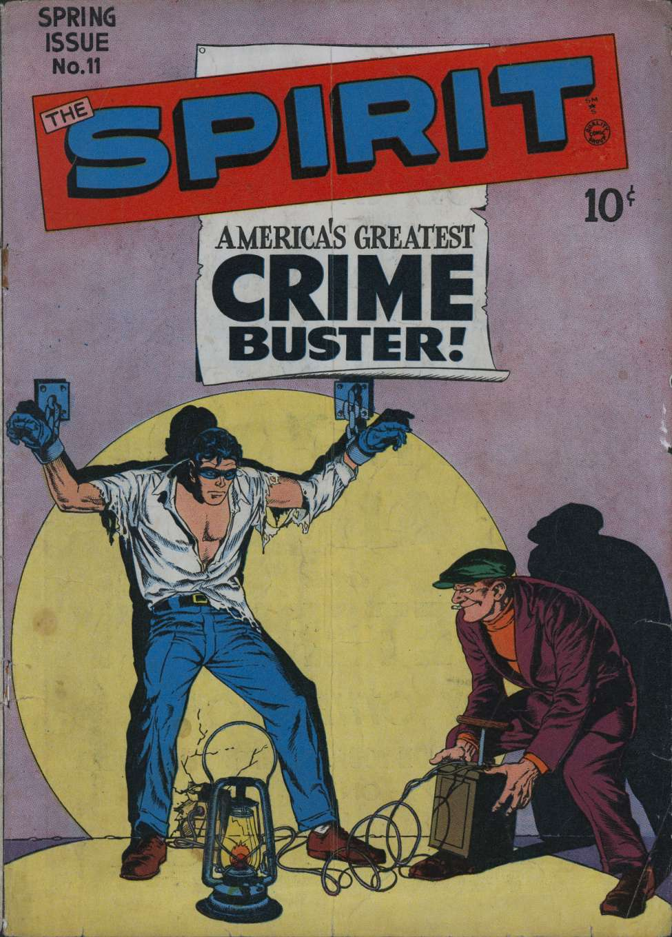 Comic Book Cover For The Spirit #11