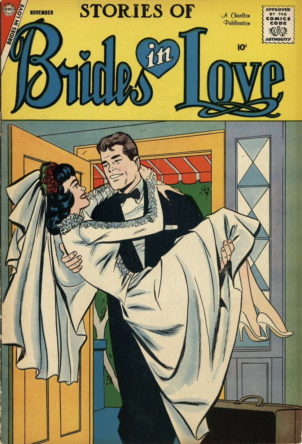 Comic Book Cover For Brides in Love #10