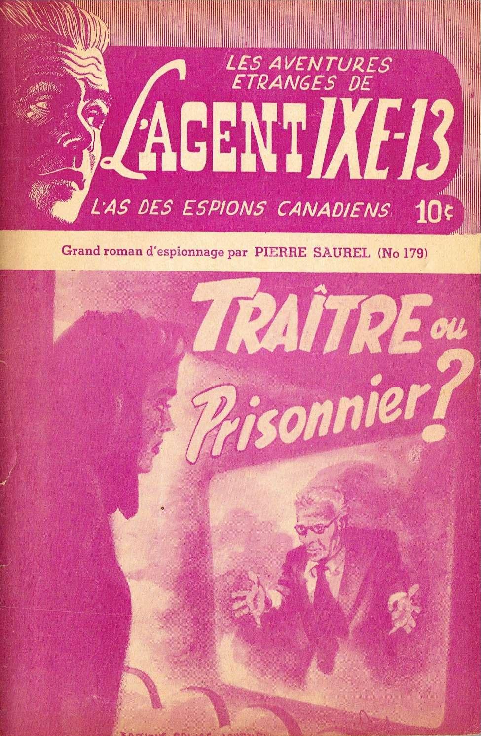 Comic Book Cover For L'Agent IXE-13 v2 179 - Traître ou prisonnier?