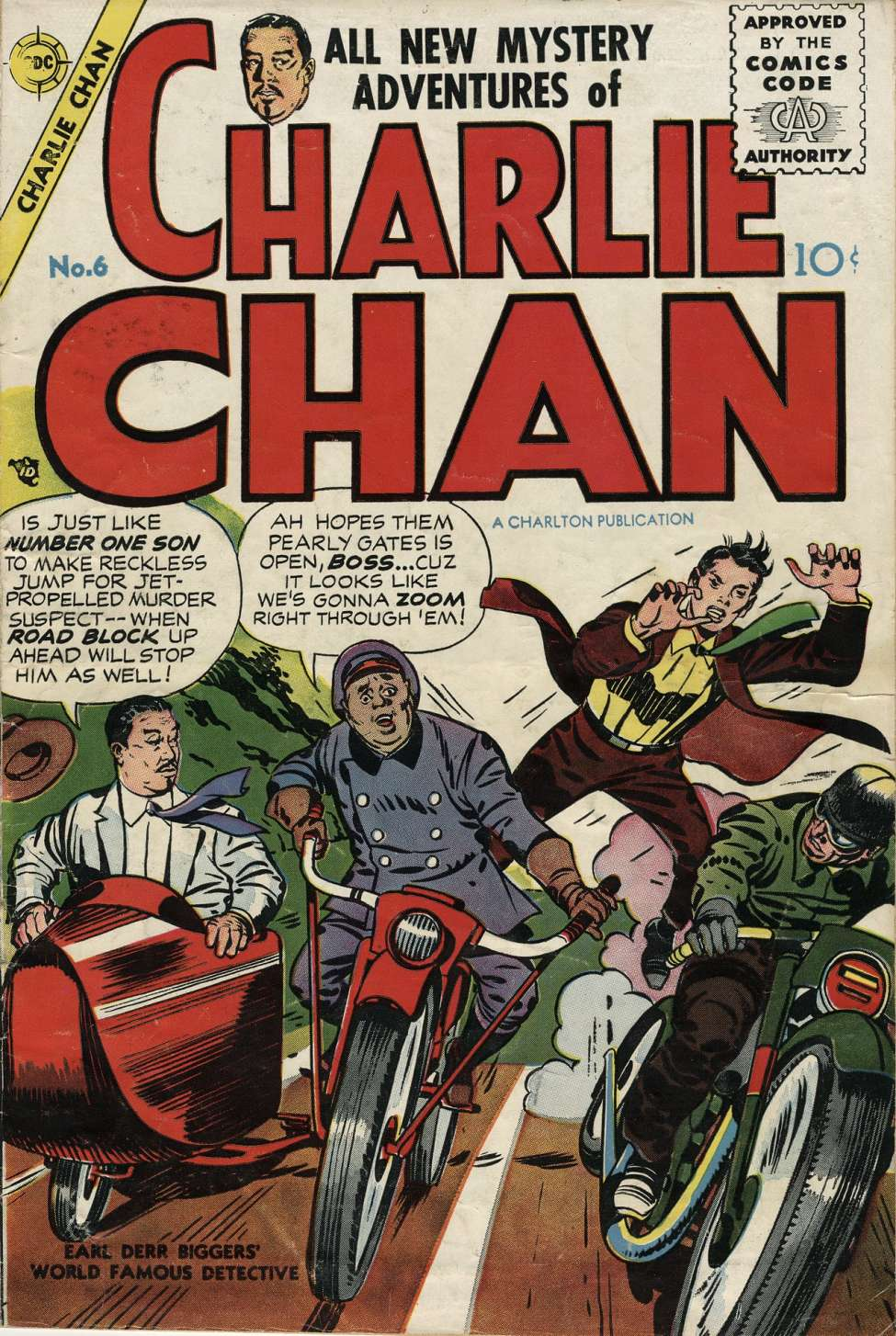Comic Book Cover For Charlie Chan #6