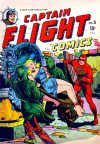 Cover For Captain Flight Comics 5
