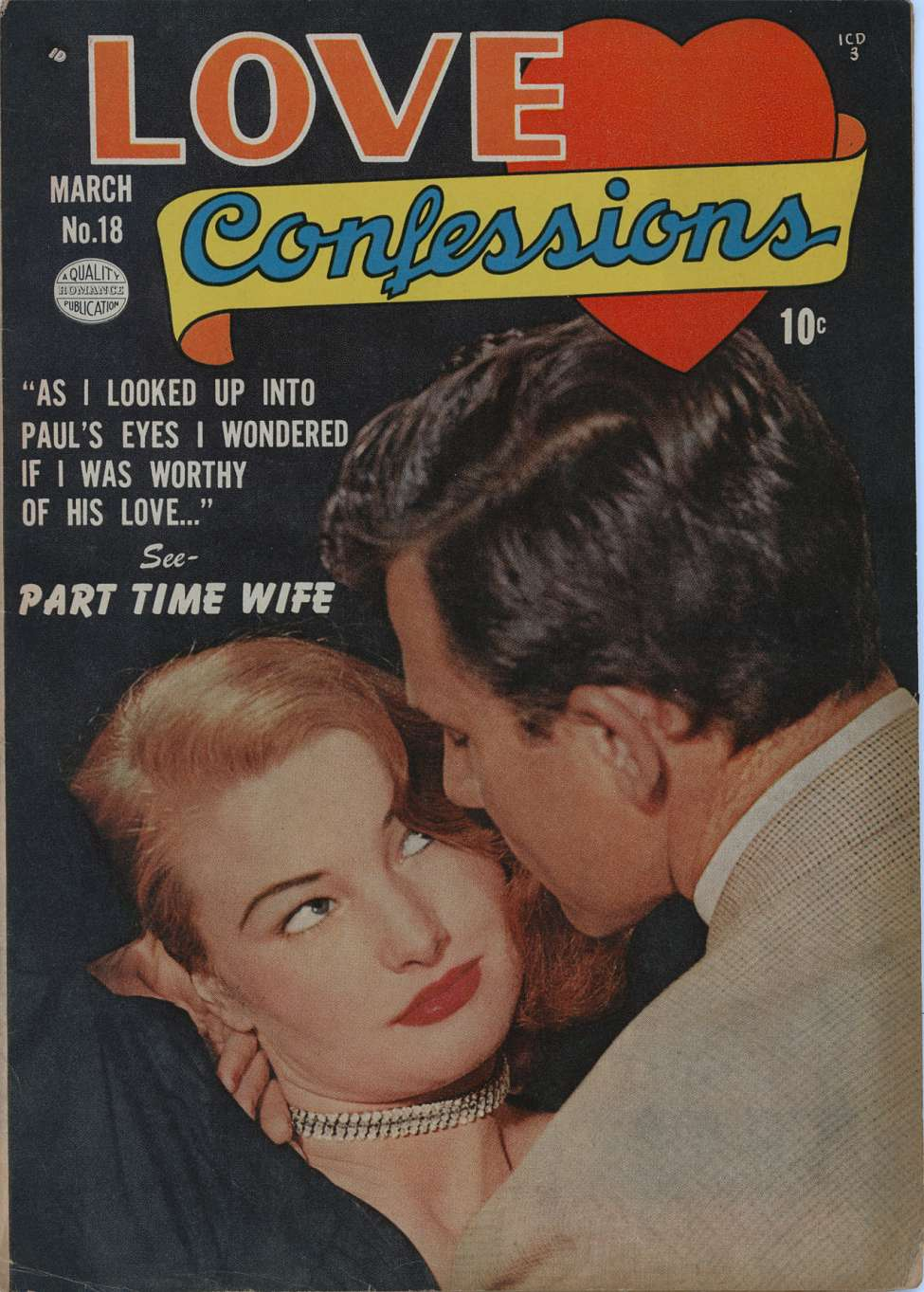 Comic Book Cover For Love Confessions #18