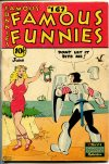 Cover For Famous Funnies 167