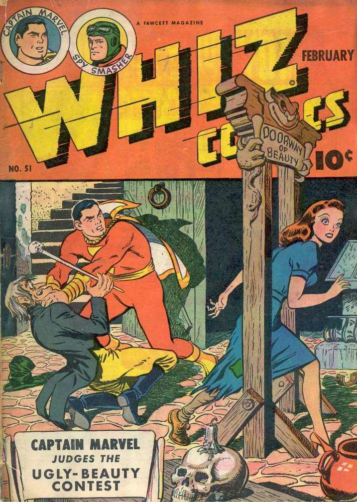 Comic Book Cover For Capt. Marvel Whiz Archives Vol 12