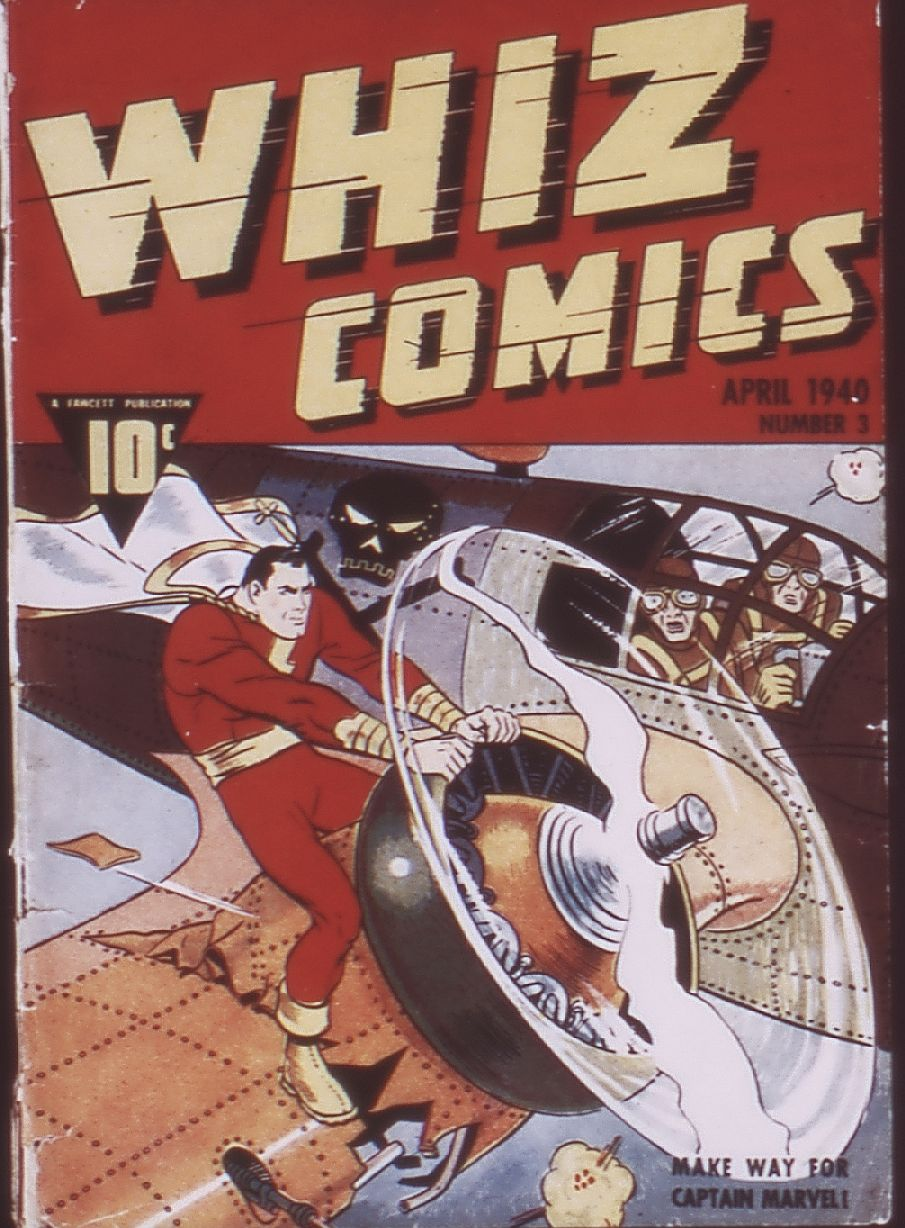 Comic Book Cover For Whiz Comics 4 (3)