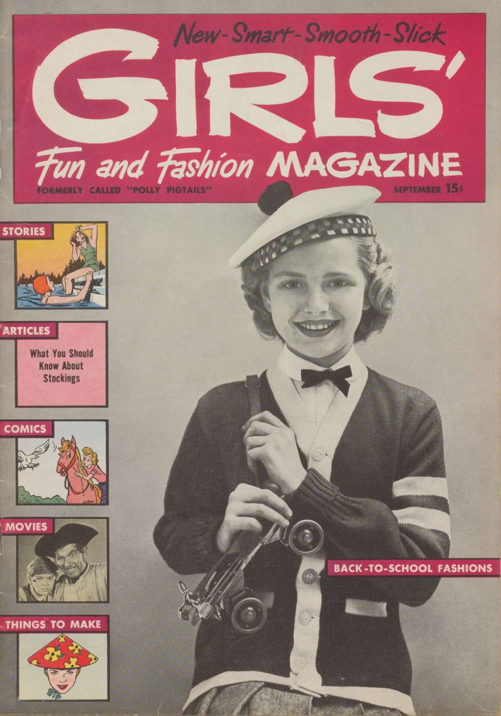 Comic Book Cover For Girls' Fun and Fashion Magazine #48