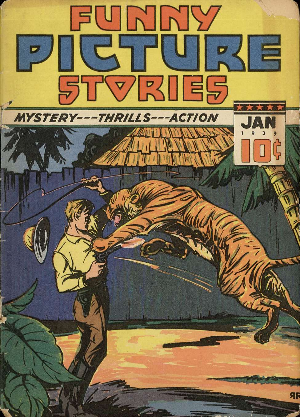 Comic Book Cover For Funny Picture Stories v3 #1
