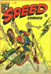 Cover For Speed Comics 41