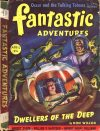 Cover For Fantastic Adventures v4 4 Dwellers of the Deep Don Wilcox