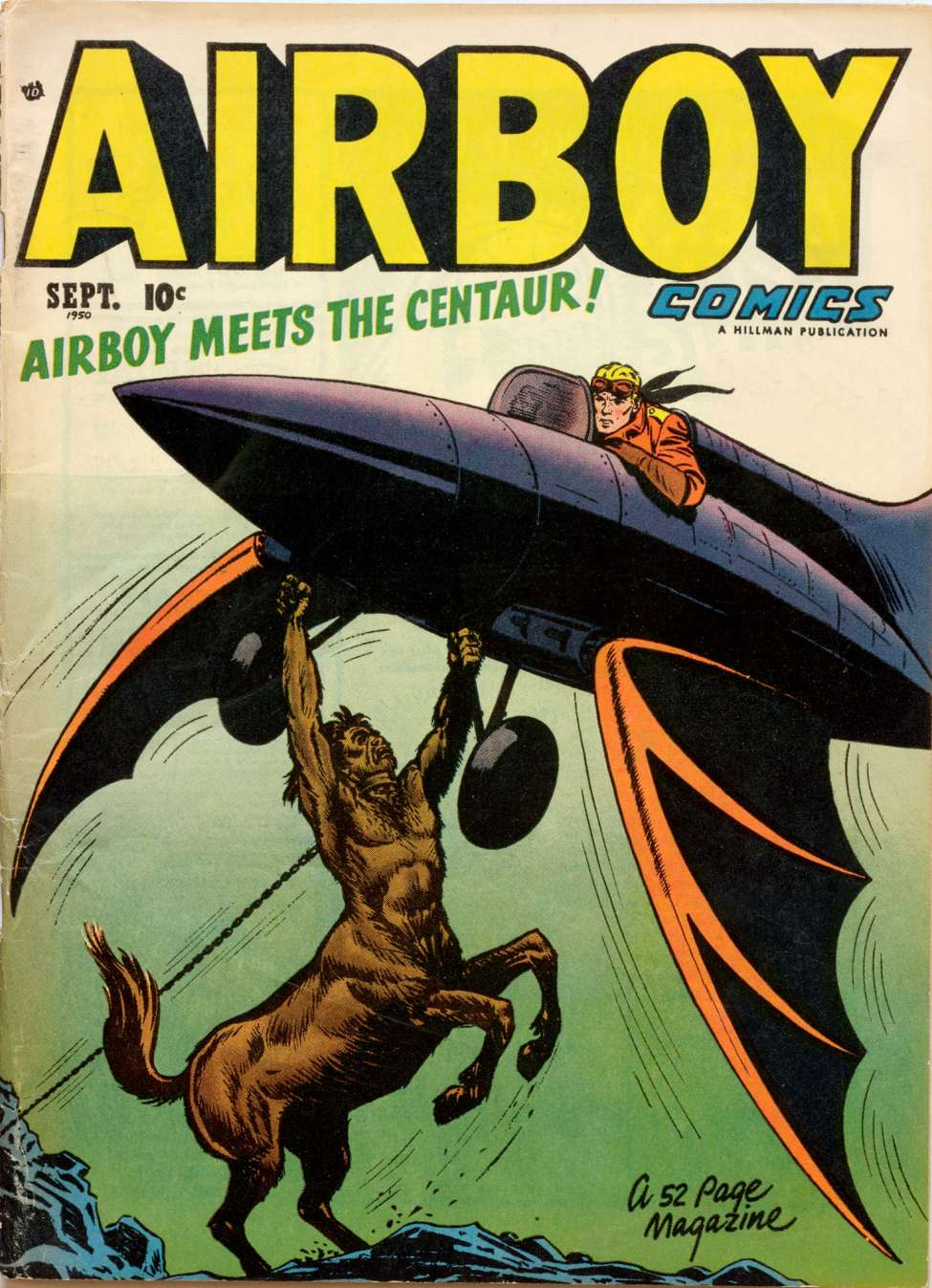 Comic Book Cover For Airboy Comics v7 8 [79]