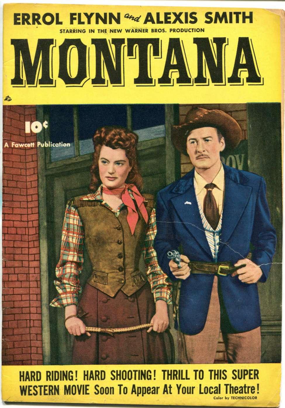 Comic Book Cover For Montana [nn]
