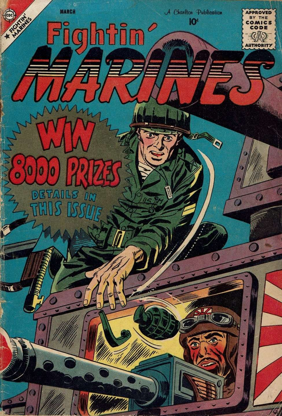 Comic Book Cover For Fightin' Marines #29