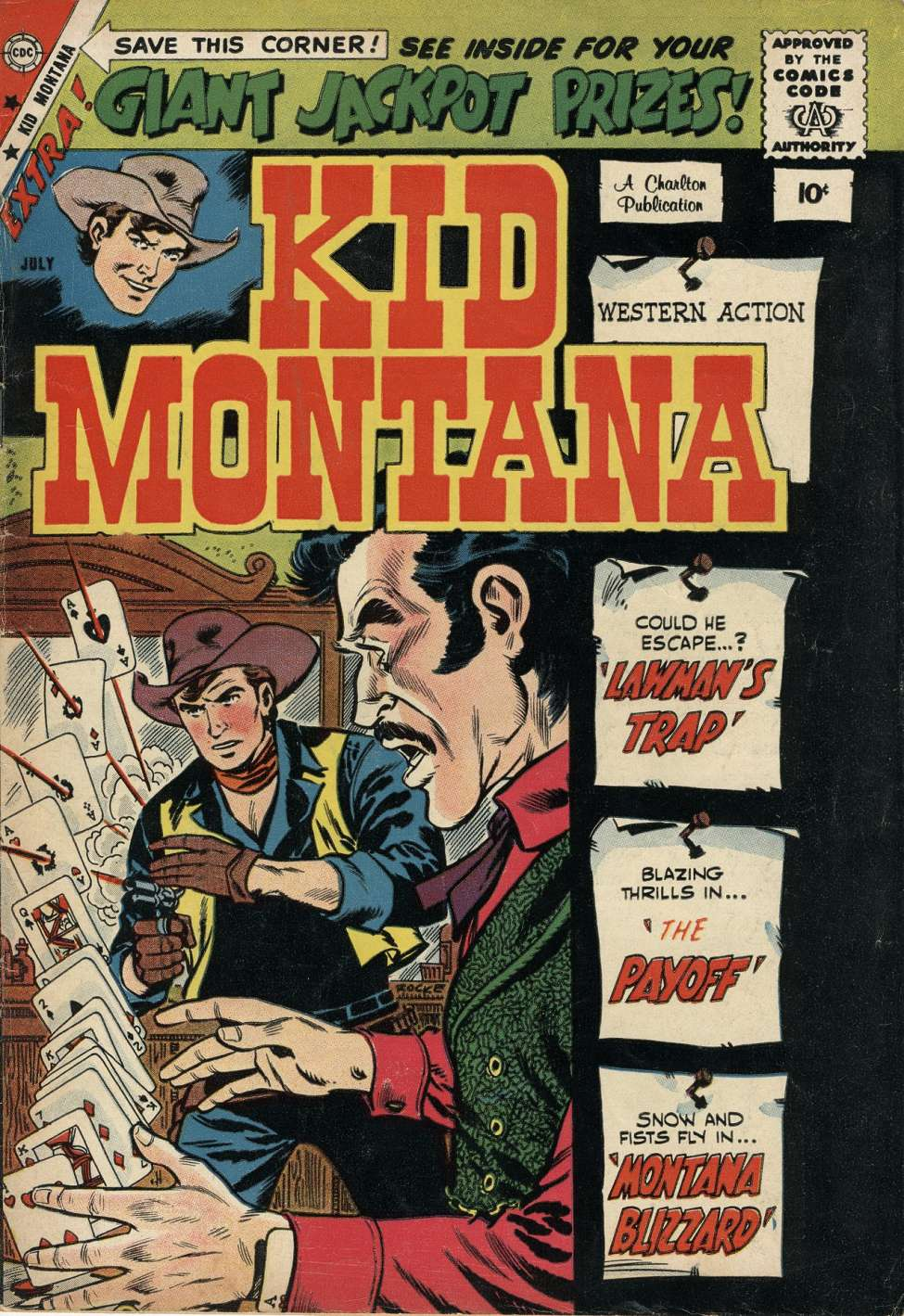 Comic Book Cover For Kid Montana #18