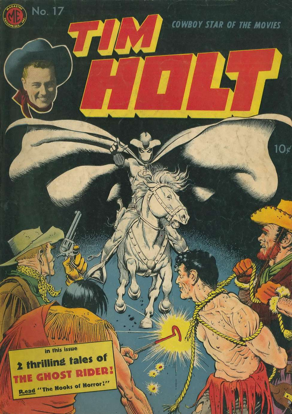 Comic Book Cover For Tim Holt #17