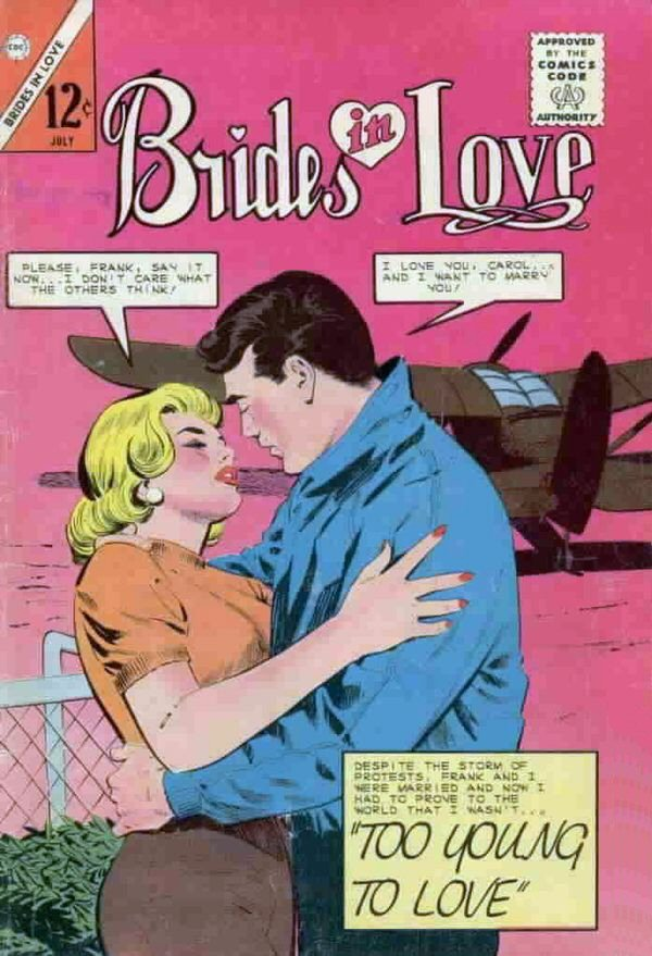 Comic Book Cover For Brides in Love #42