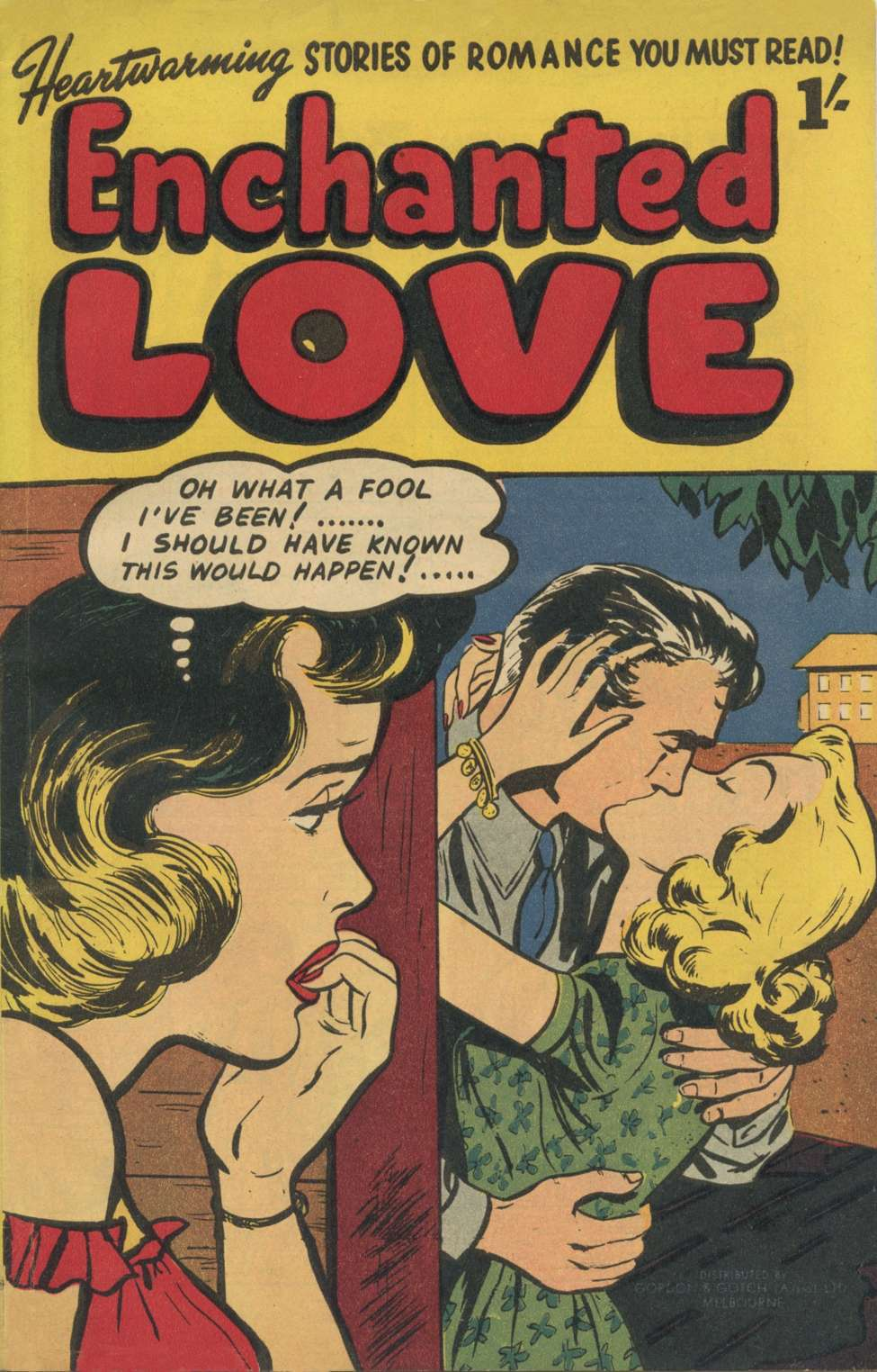 Comic Book Cover For Enchanted Love [nn]