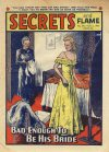 Cover For Secrets and Flame 596
