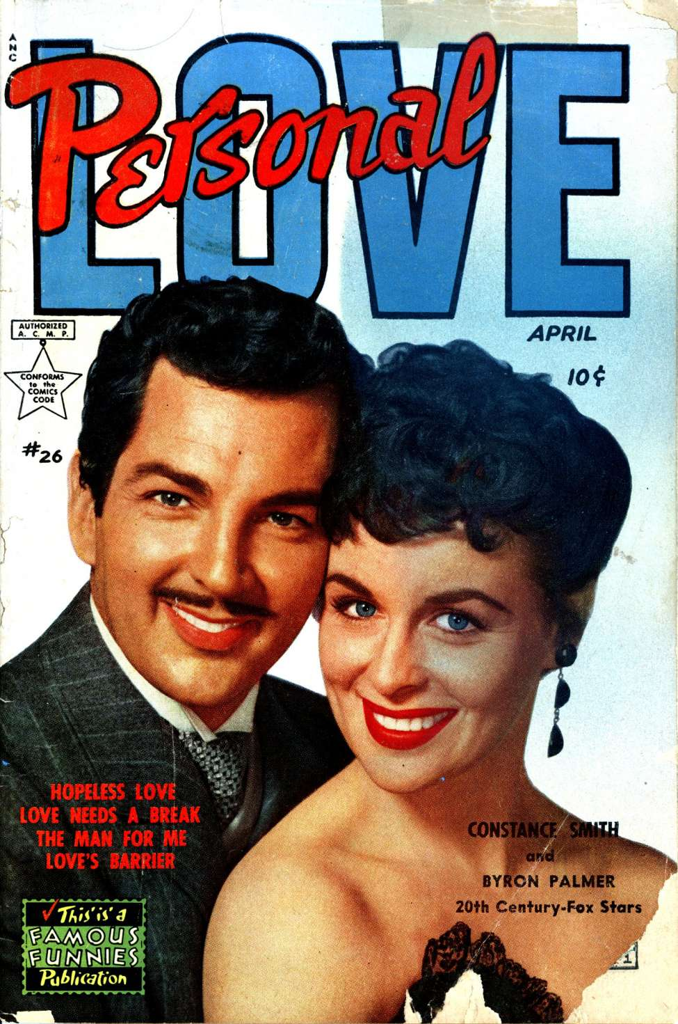 Comic Book Cover For Personal Love #26