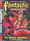 Cover For Fantastic Adventures v12 5 The Mental Assassins Gregg Conrad