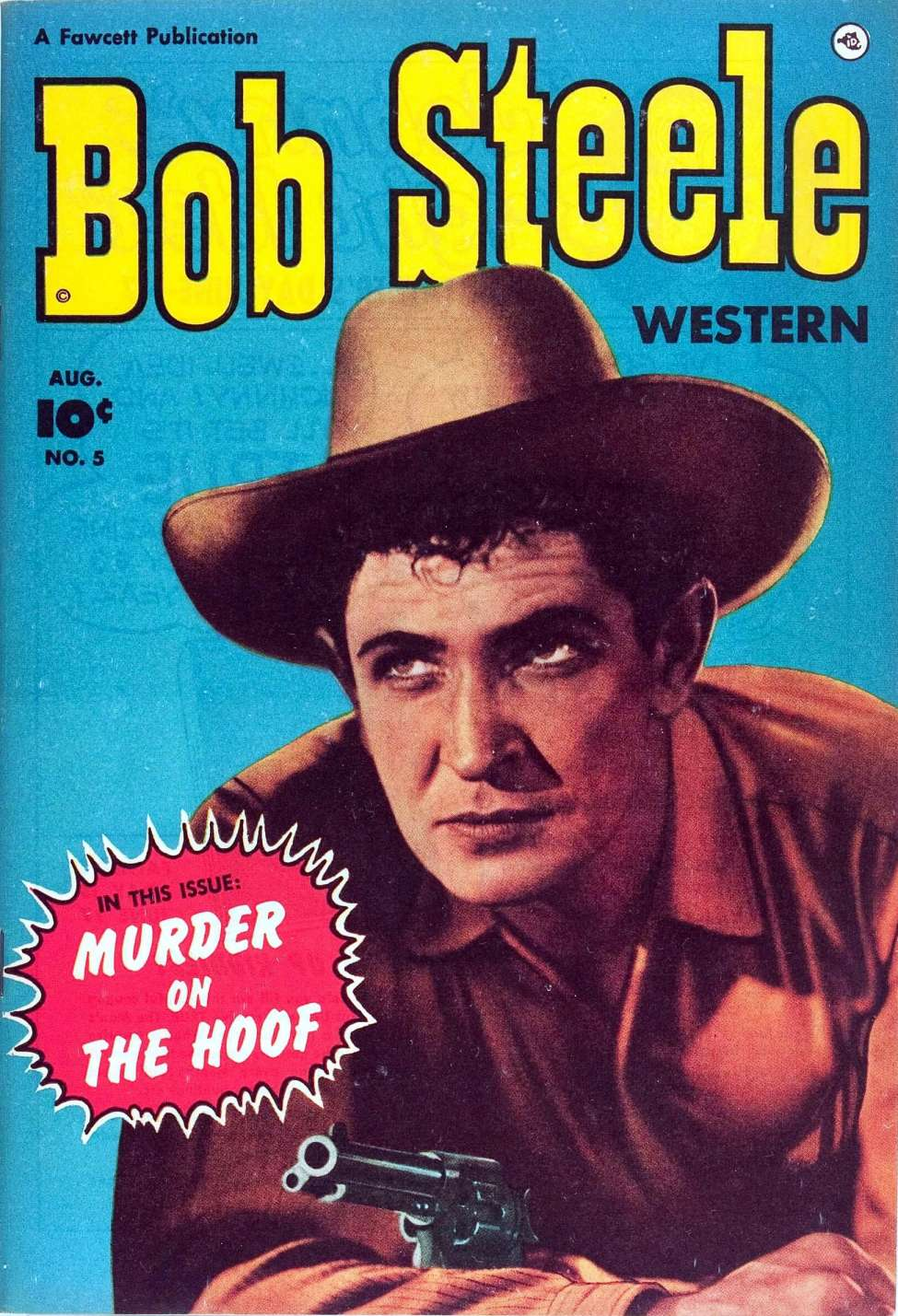 Comic Book Cover For Bob Steele Western #5