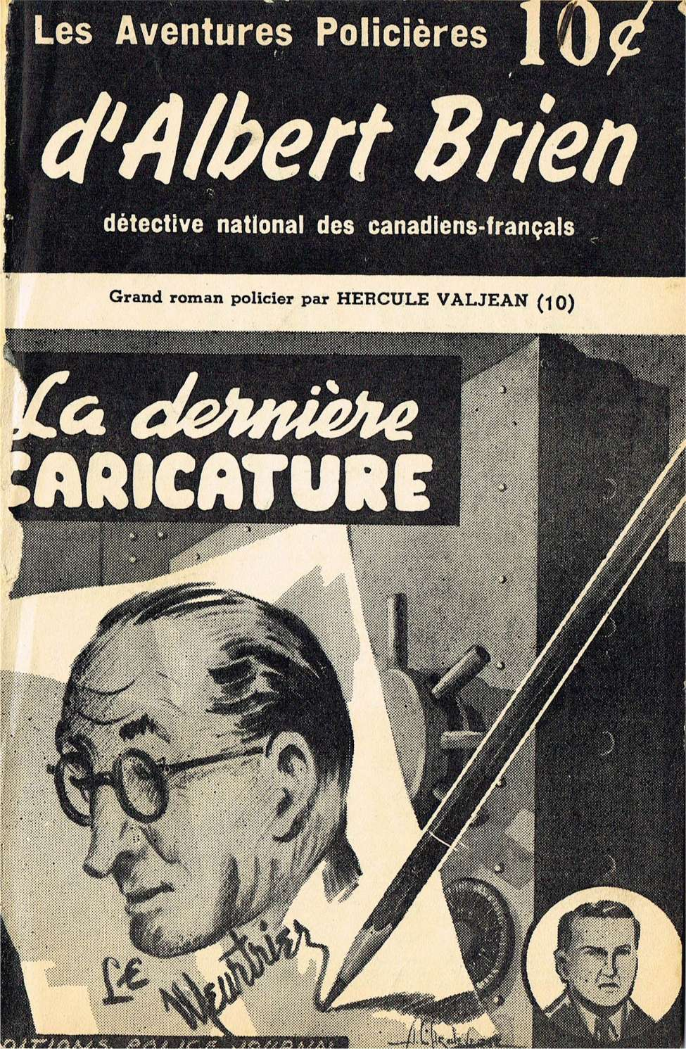 Comic Book Cover For Albert Brien v2 10 - La dernière caricature