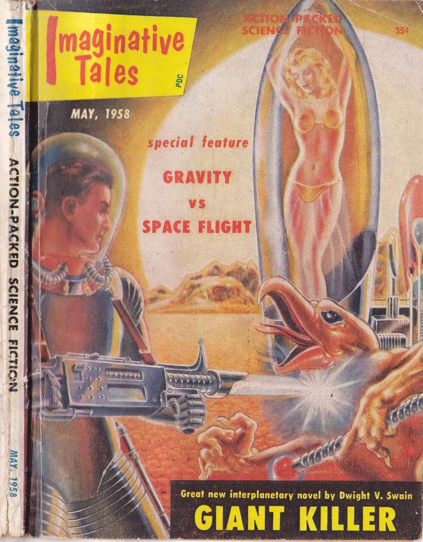 Comic Book Cover For ImaginativeTales v05 03 - Giant Killer - Dwight V. Swain