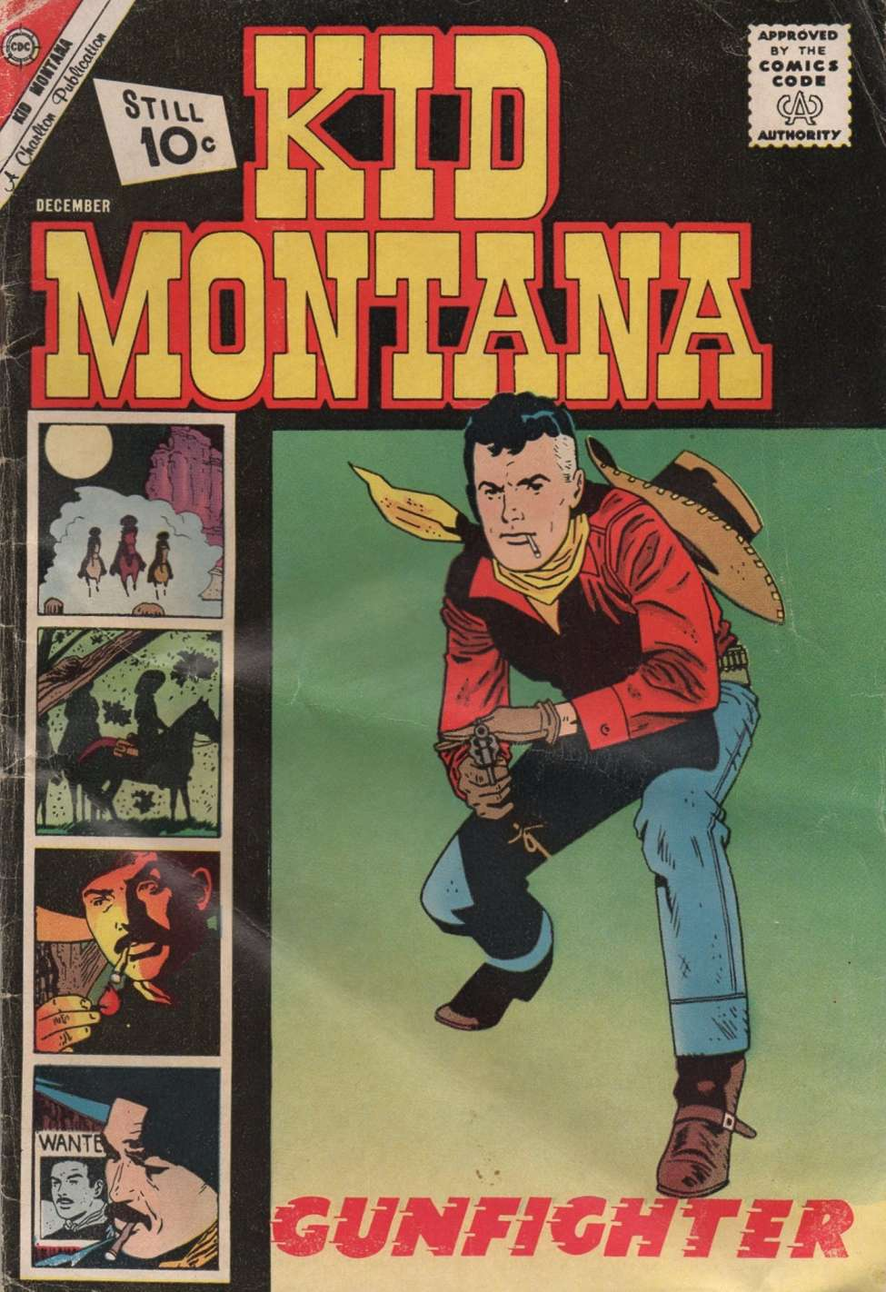 Comic Book Cover For Kid Montana #32