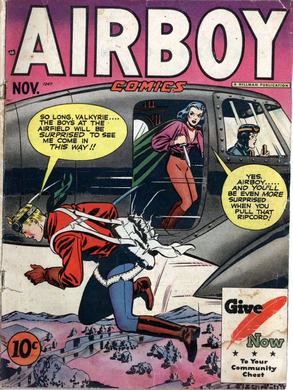 Comic Book Cover For Airboy Archive Part 3