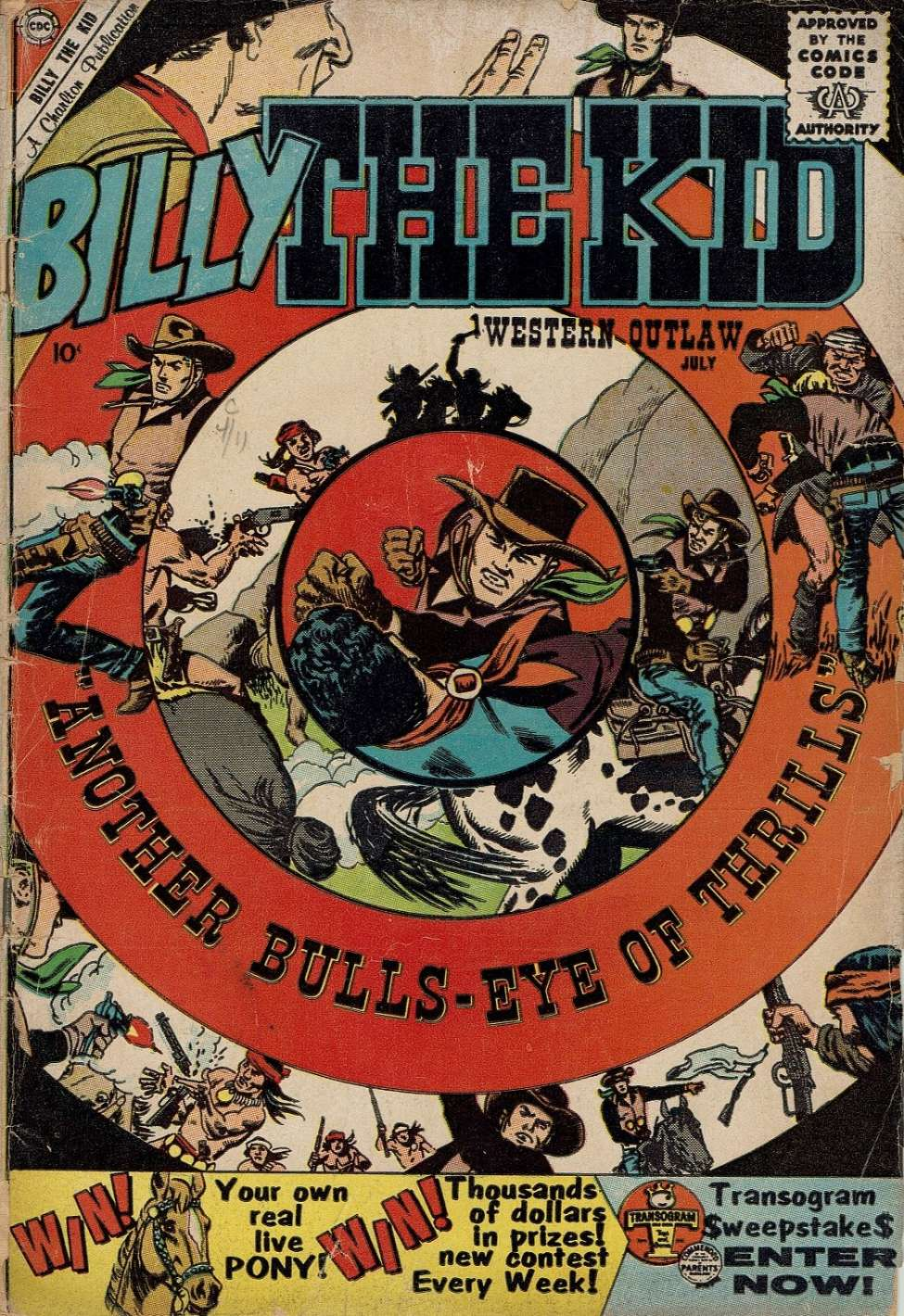 Comic Book Cover For Billy the Kid #23