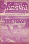 Cover For L'Agent IXE 13 v2 58 L'île fantôme